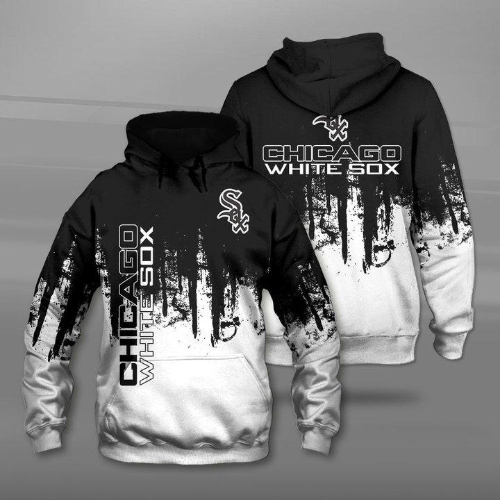 MLB chicago white sox full printing hoodie