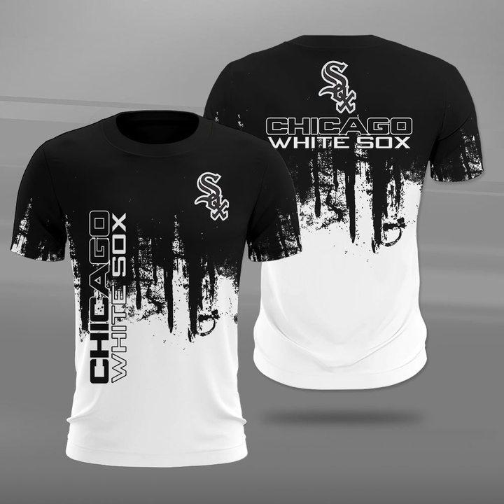 MLB chicago white sox full printing tshirt