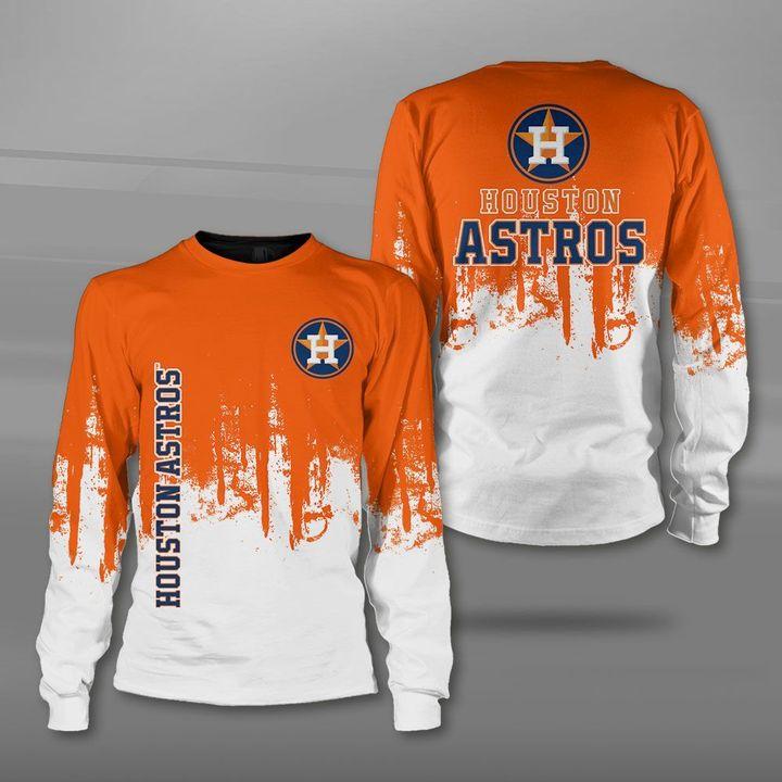 MLB houston astros full printing sweatshirt