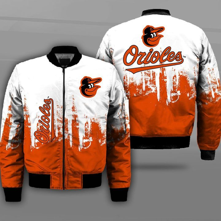 Major league baseball baltimore orioles full printing bomber