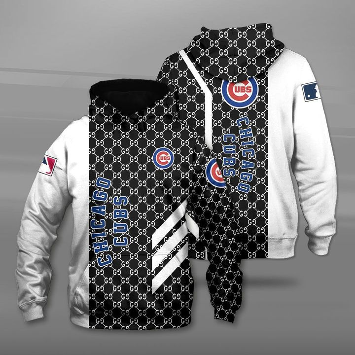Major league baseball chicago cubs full printing hoodie