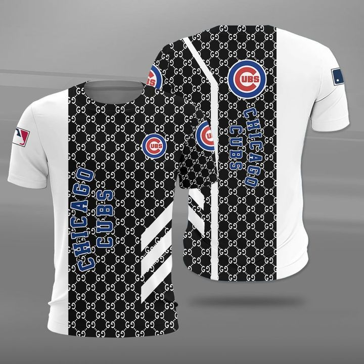 Major league baseball chicago cubs full printing tshirt