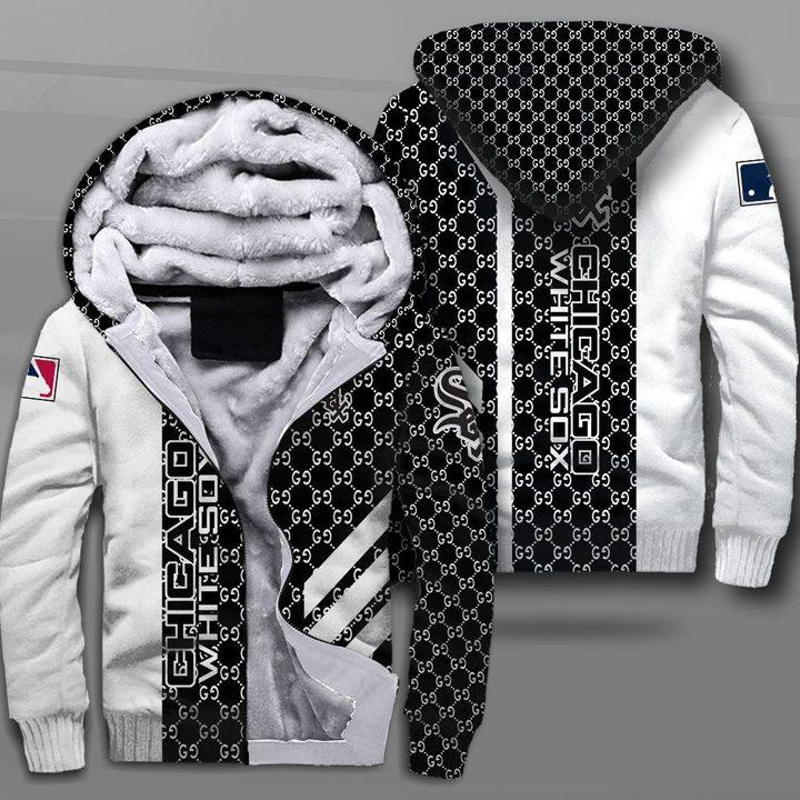 Major league baseball chicago white sox full printing fleece hoodie
