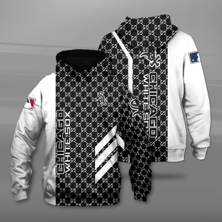 Major league baseball chicago white sox full printing hoodie