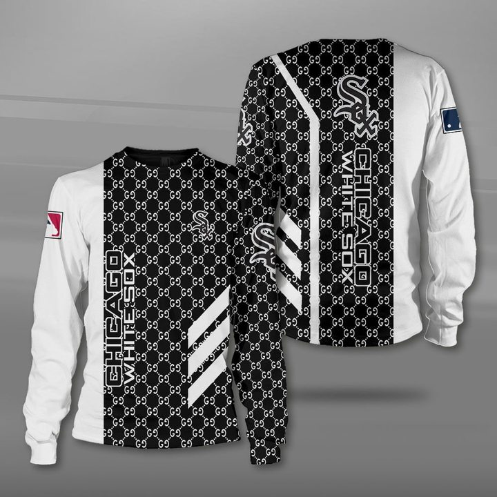 Major league baseball chicago white sox full printing sweatshirt