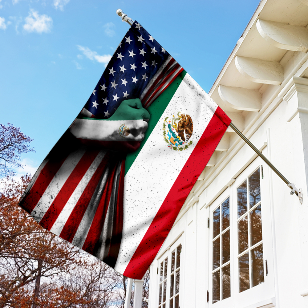 Mexican 4th of july american flag 1