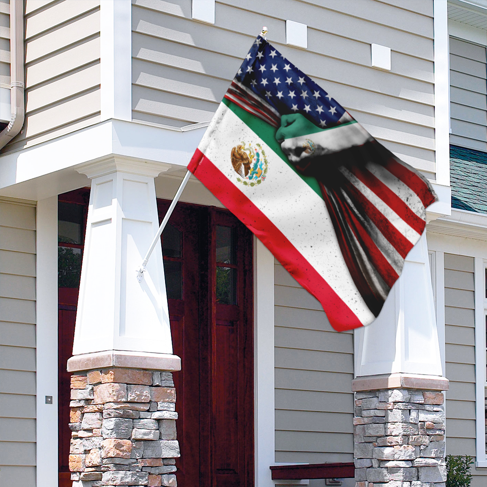 Mexican 4th of july american flag 3