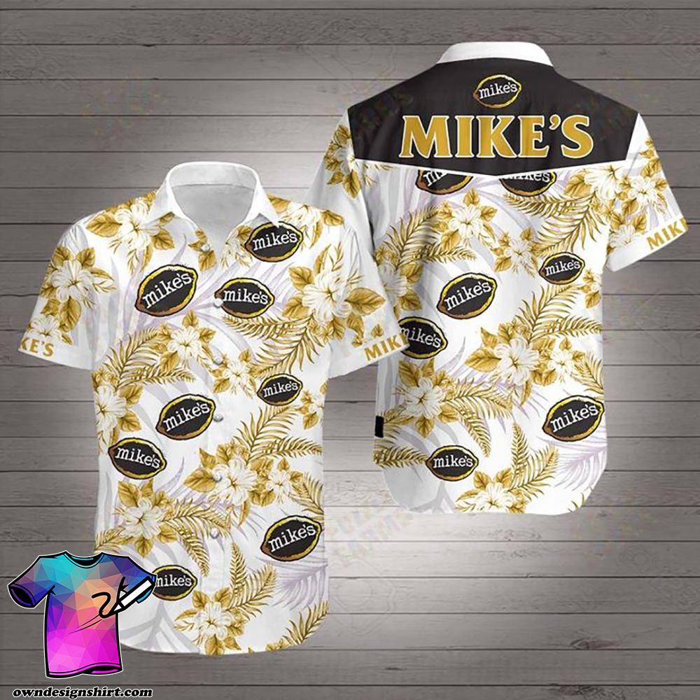Mike_s beer hawaiian shirt