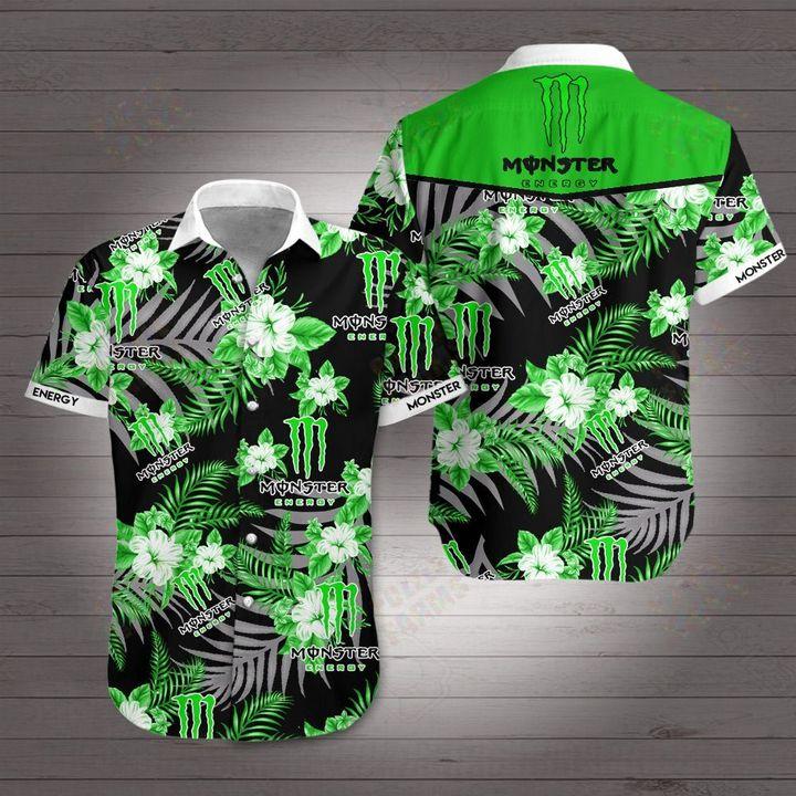 Monster energy hawaiian shirt 2