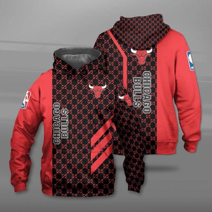 NBA chicago bulls full printing hoodie