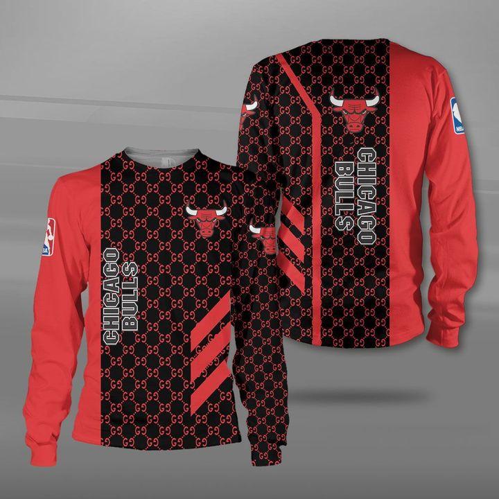 NBA chicago bulls full printing sweatshirt