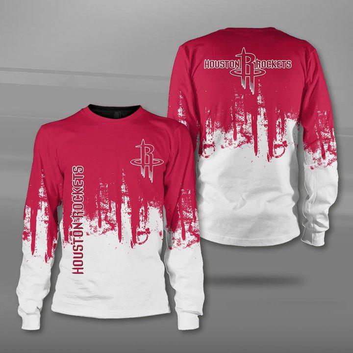 NBA houston rockets full printing sweatshirt