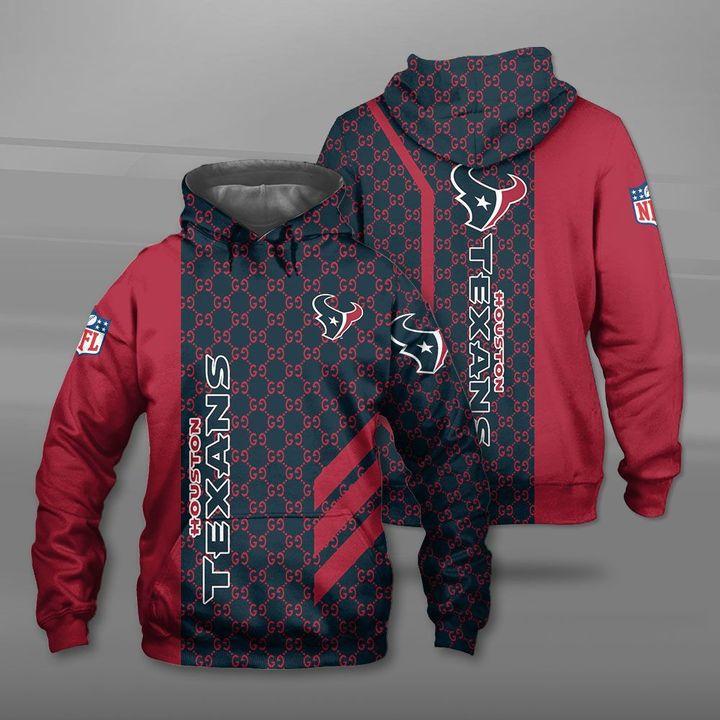 NFL houston texans full printing hoodie