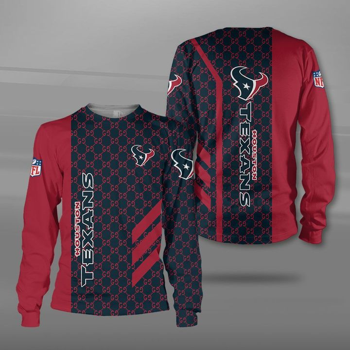NFL houston texans full printing sweatshirt