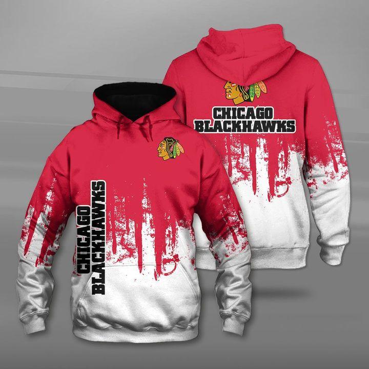 NHL chicago blackhawks full printing hoodie