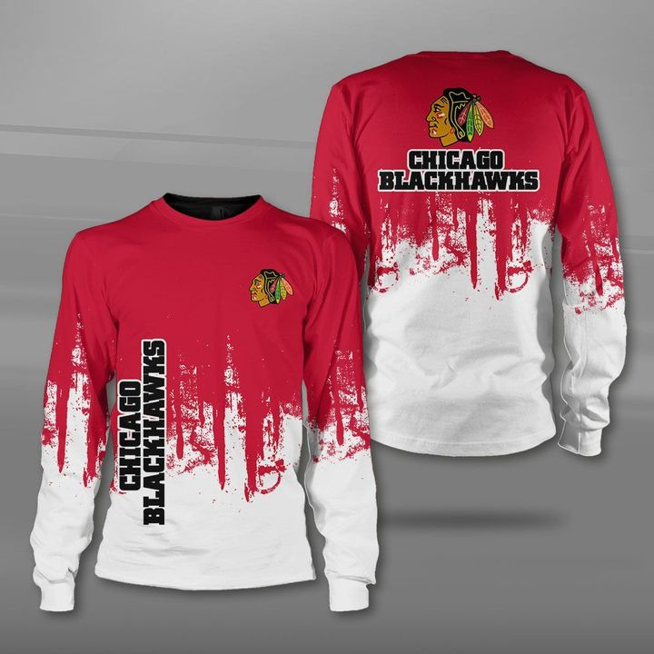 NHL chicago blackhawks full printing sweatshirt