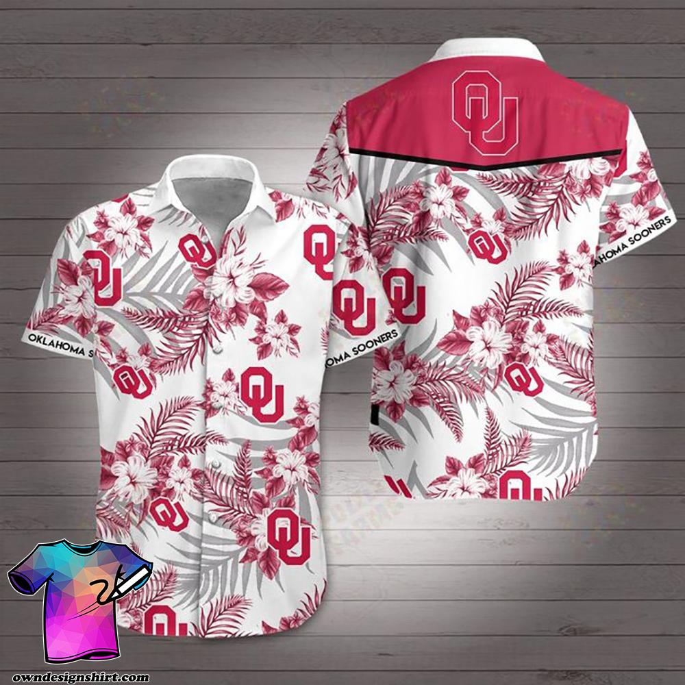 Oklahoma sooners hawaiian shirt