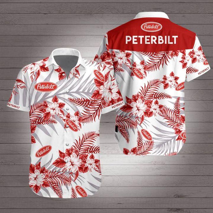 Peterbilt trucks hawaiian shirt 1