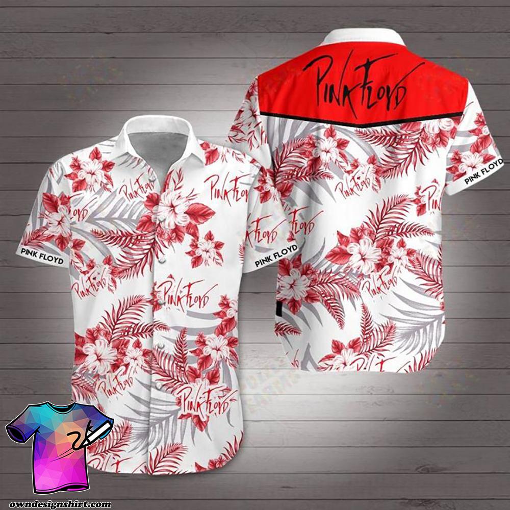 Pink floyd hawaiian shirt