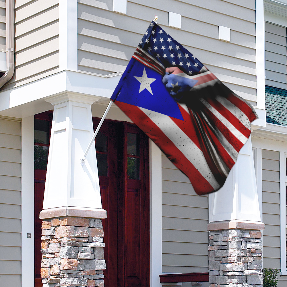Puerto rican 4th of july american flag 3