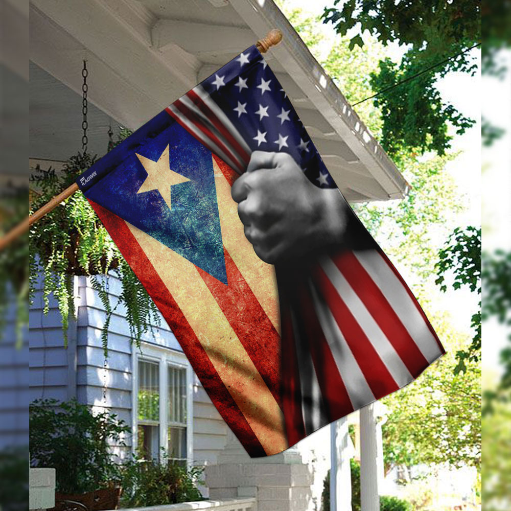 Puerto rican independence day flag 2