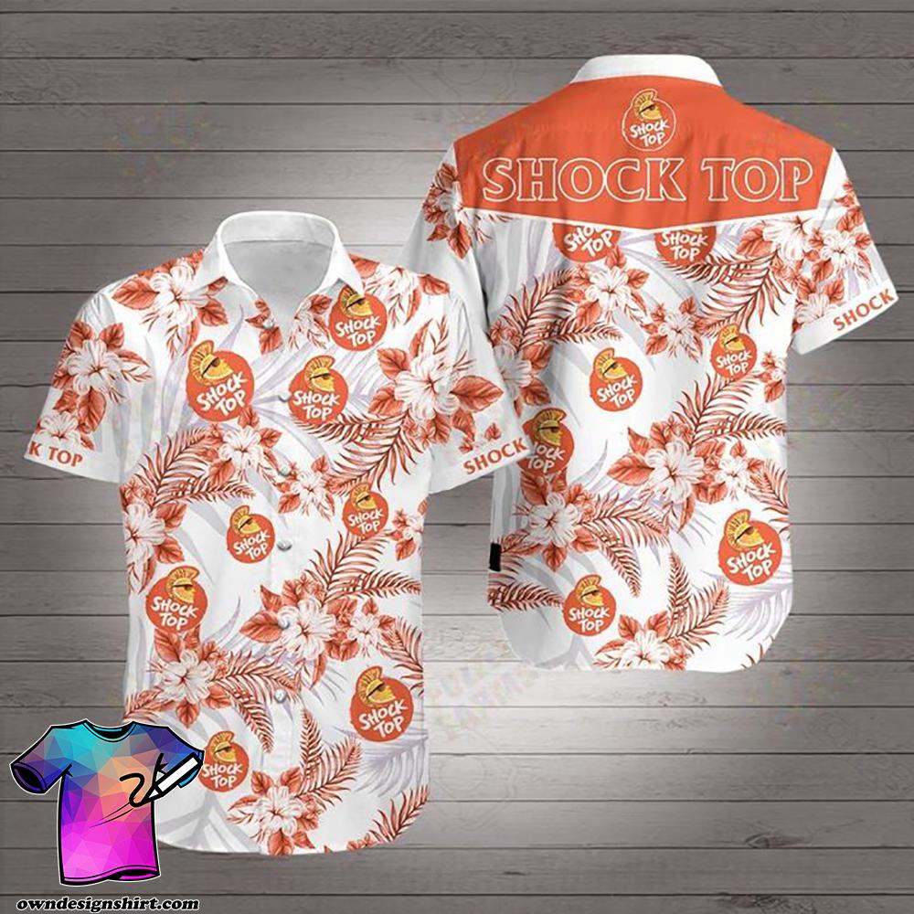 Shock top beer hawaiian shirt