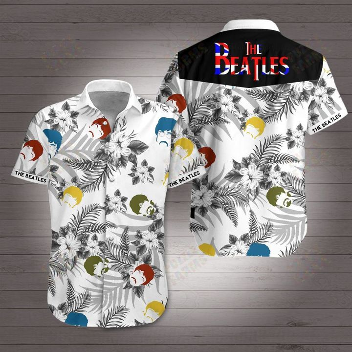 The beatles hawaiian shirt 1