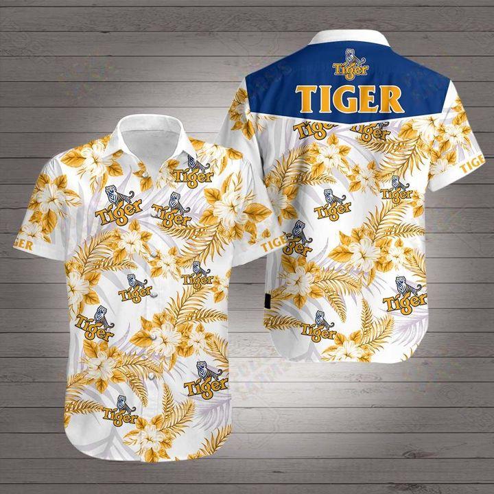 Tiger beer hawaiian shirt 1