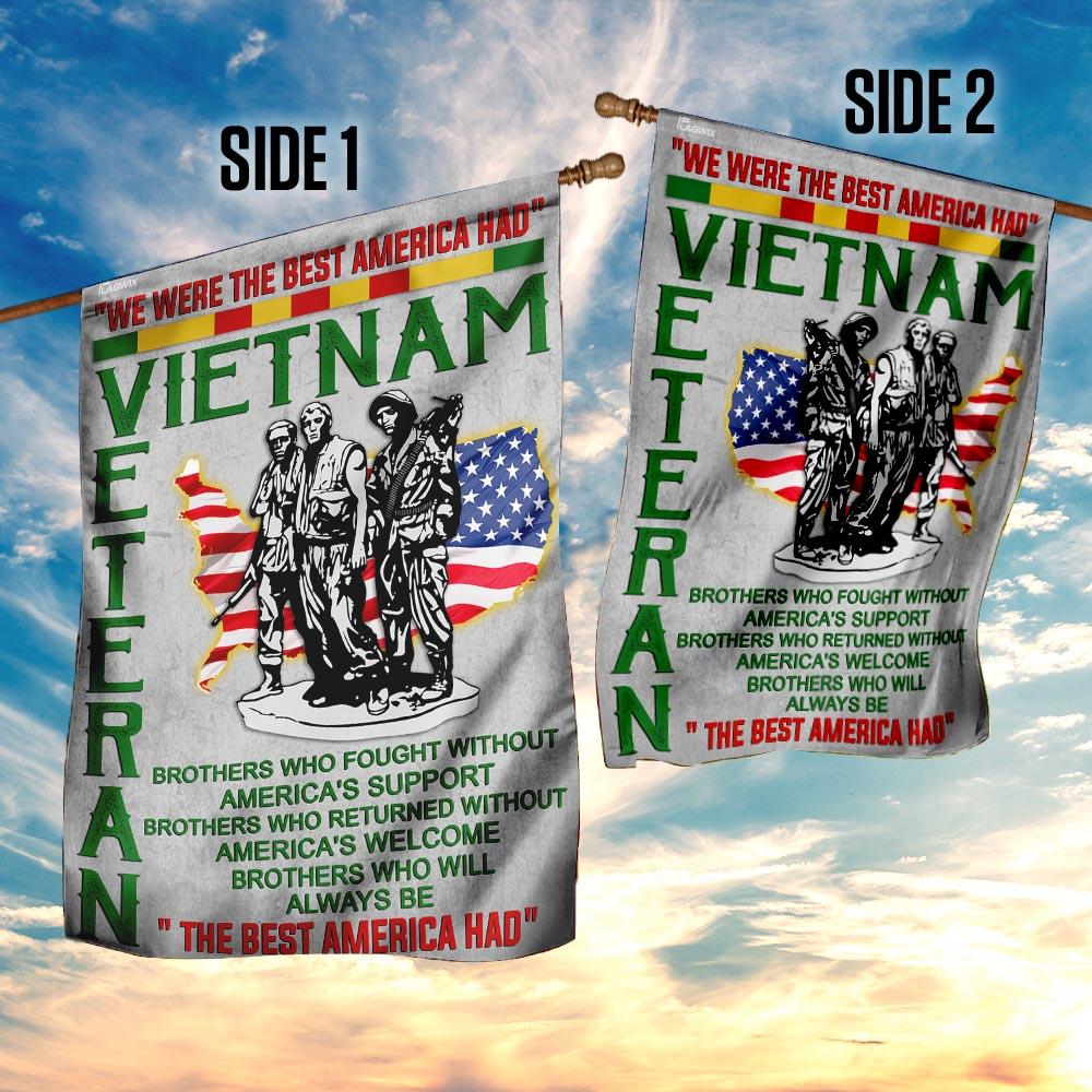 Vietnam veteran 4th of july american flag 4