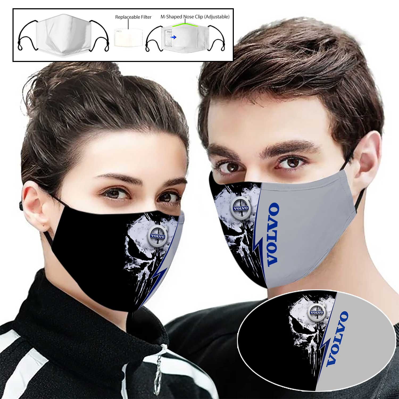 AB volvo punisher full printing face mask 1