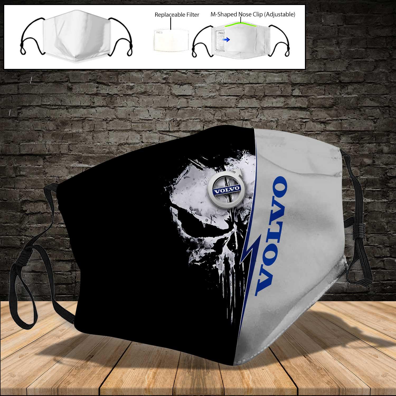AB volvo punisher full printing face mask 4