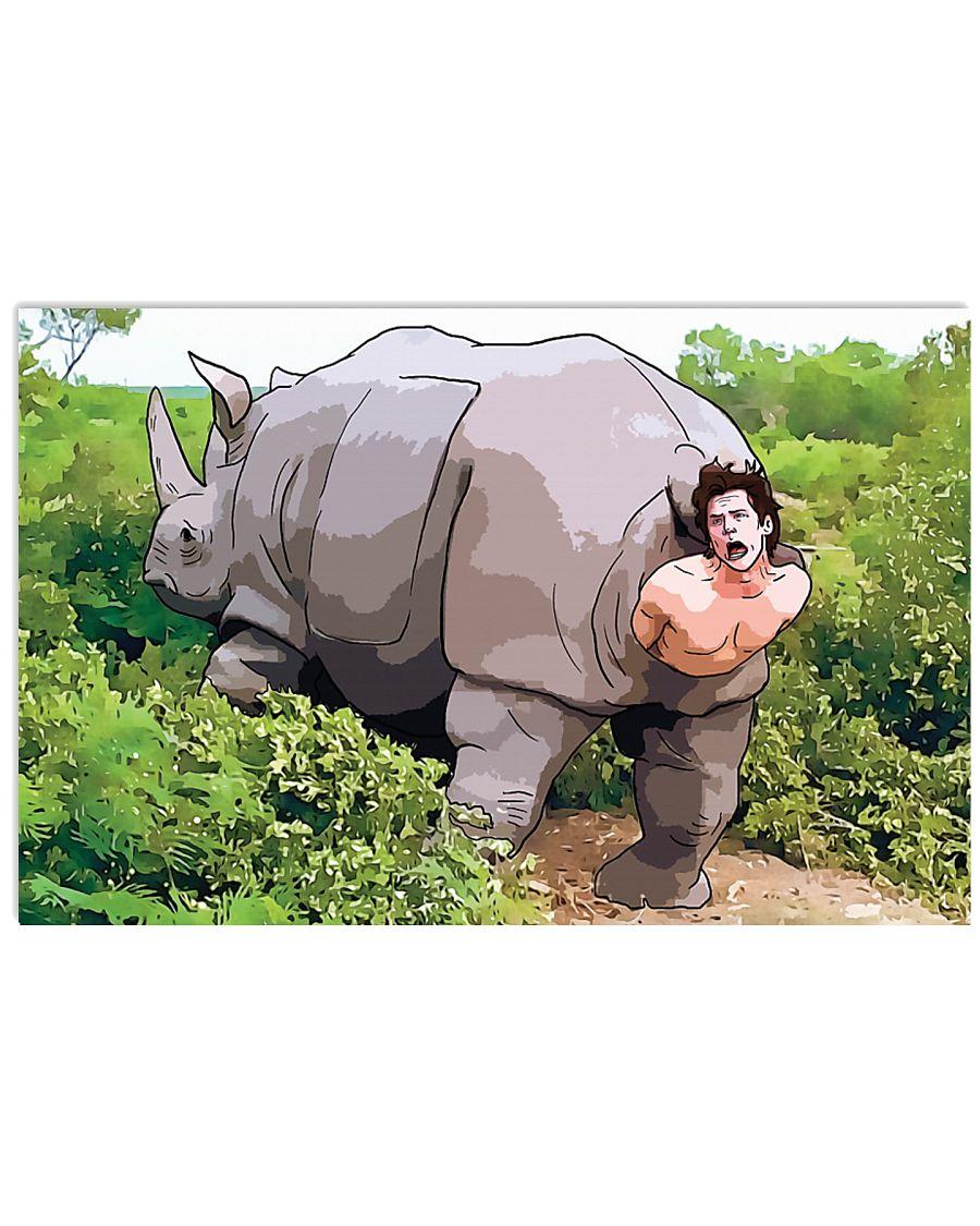 Ace ventura rhino scene poster cartoon poster 4