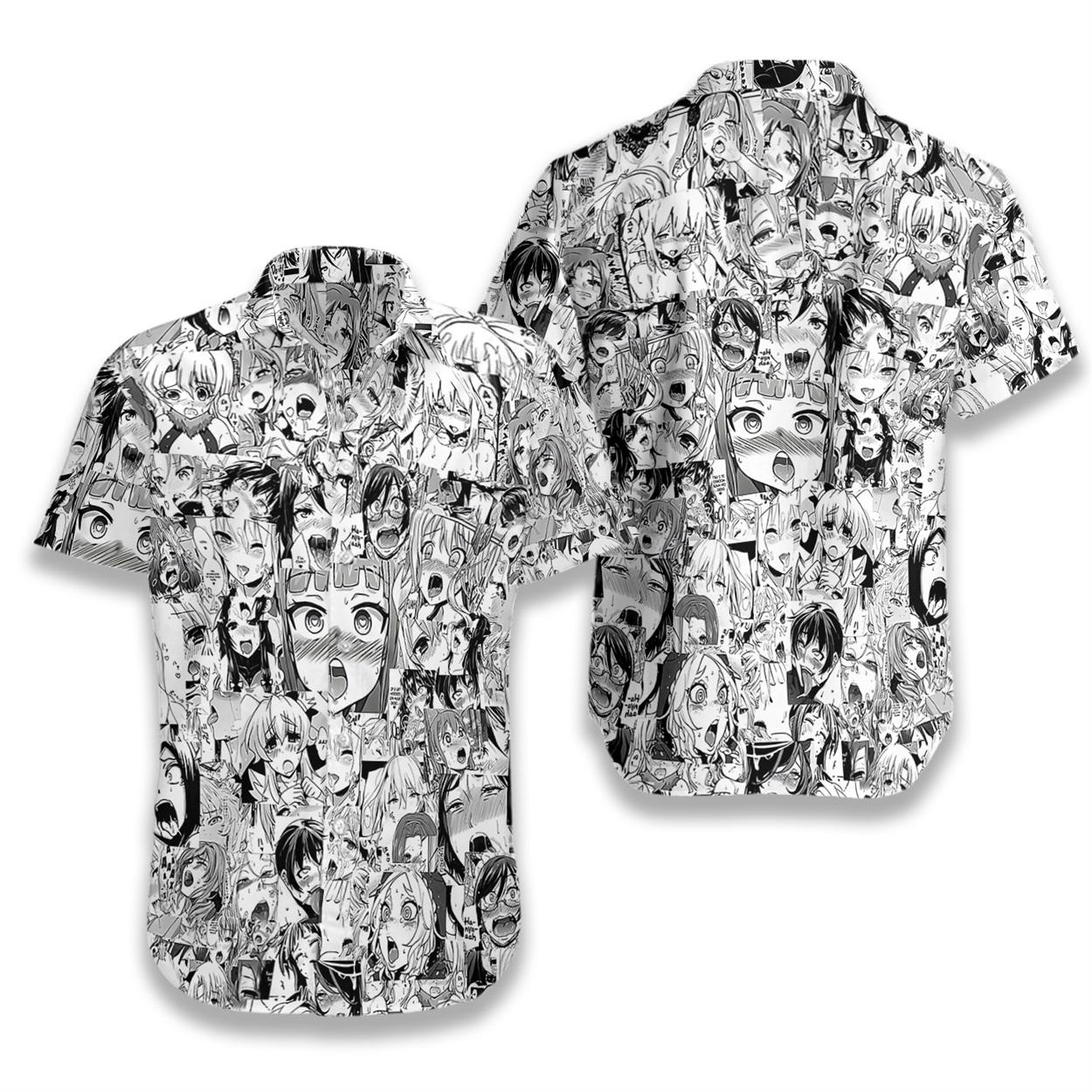 Agehao hawaiian shirt 1