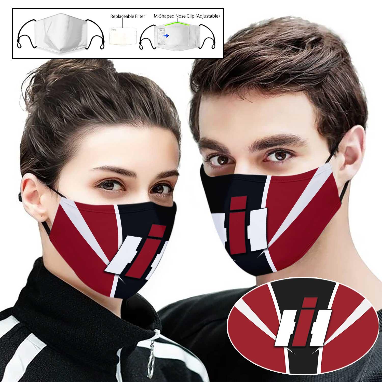 Case IH full printing face mask 1