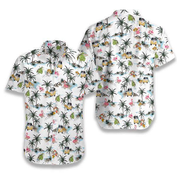 Chihuahua hawaii hawaiian shirt 3