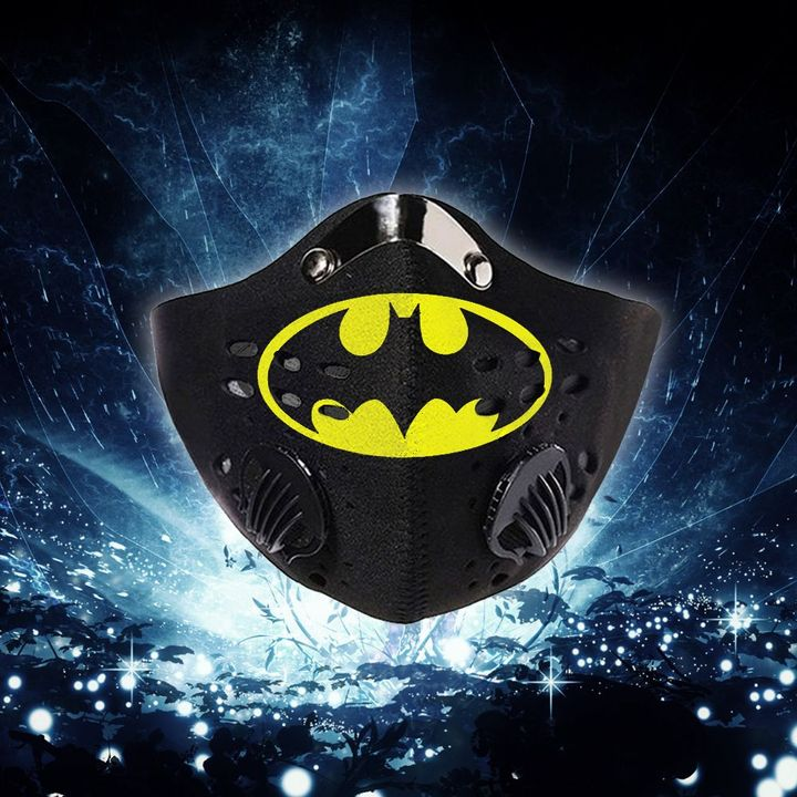 DC comics batman symbol filter activated carbon face mask 1