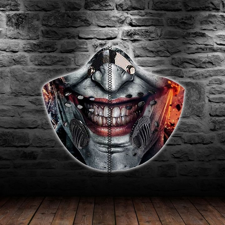 DC comics joker always smile filter activated carbon face mask 2