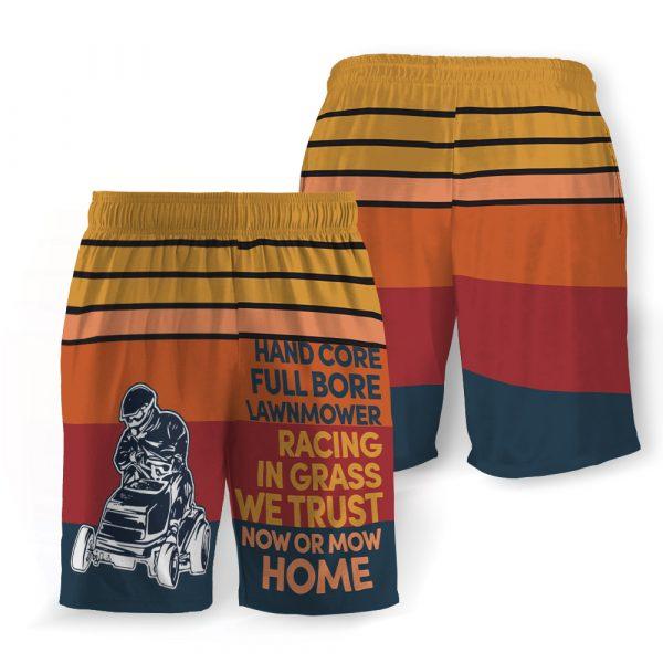Hand core full bore hawaiian shorts 4