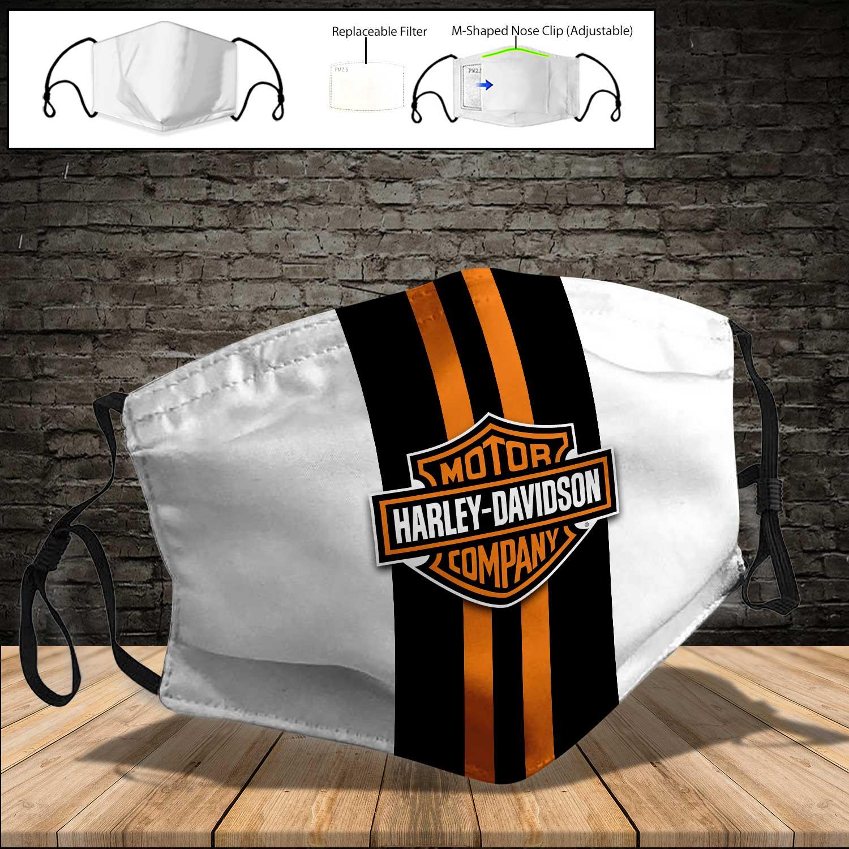 Harley-davidson motor company full printing face mask 3