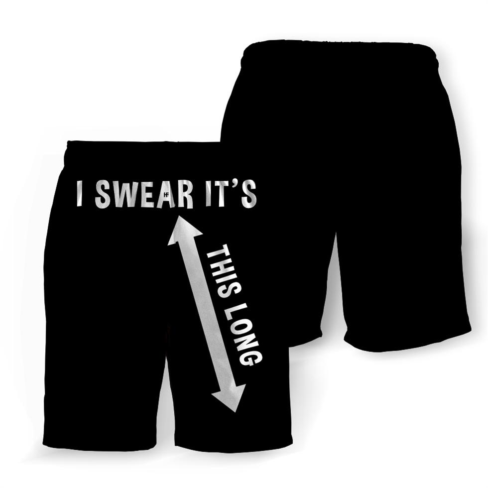 I swear it's this long hawaiian shorts 1