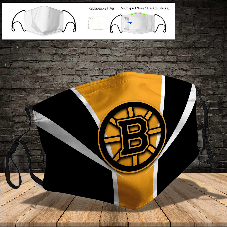 NHL boston bruins team full printing face mask 3