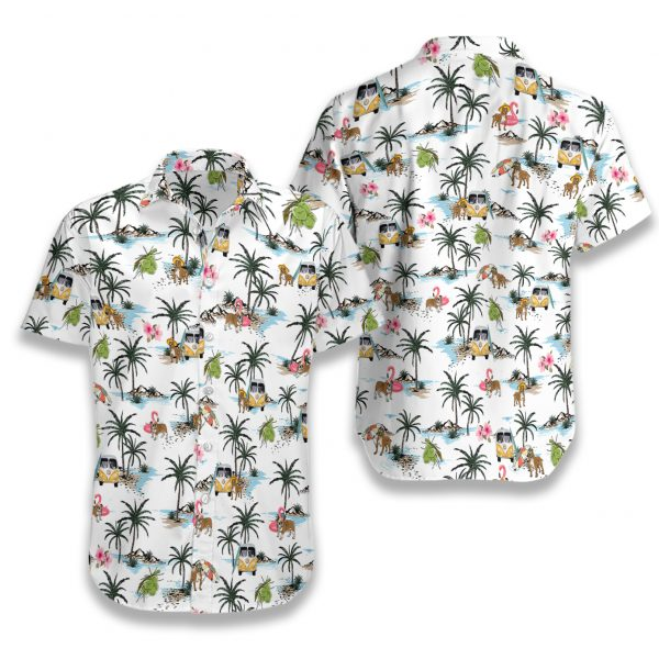 Pitbull hawaii hawaiian shirt 1