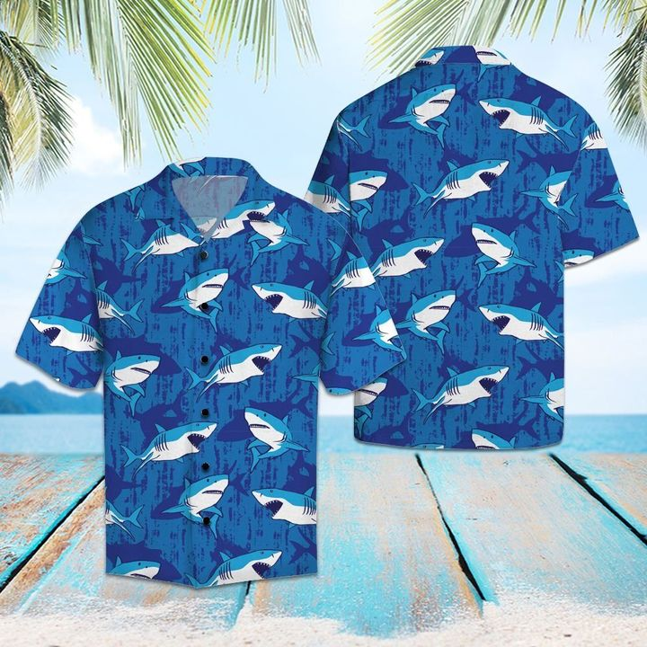 Shark hawaiian shirt 1