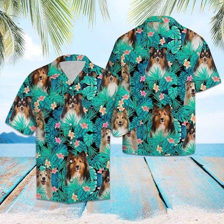 Sheepdog hawaiian shirt 1