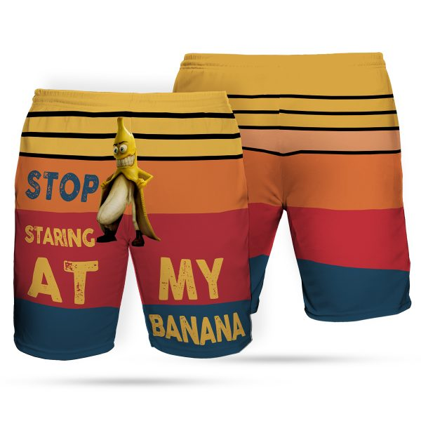 Stop staring at my banana hawaiian shorts 1