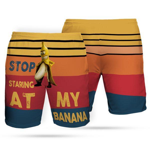 Stop staring at my banana hawaiian shorts 2