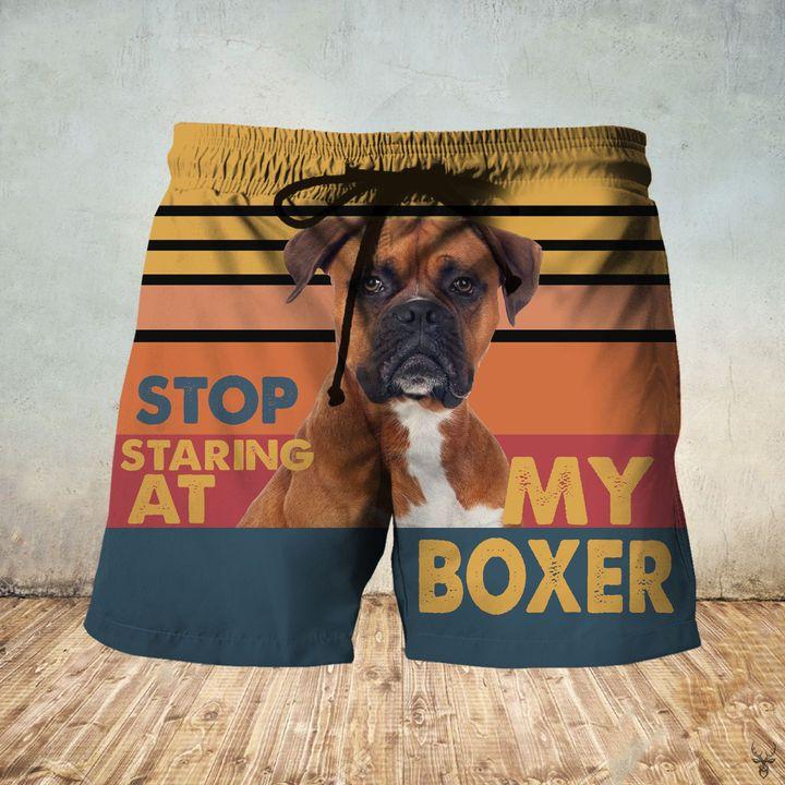 Stop staring at my boxer hawaiian shorts 1