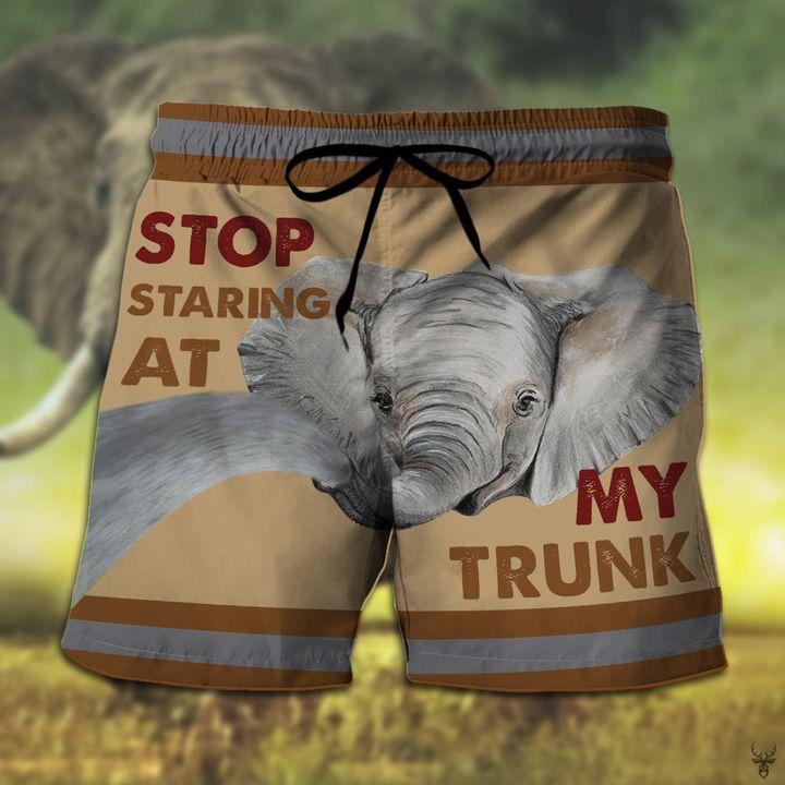 Stop staring at my elephant hawaiian shorts 2