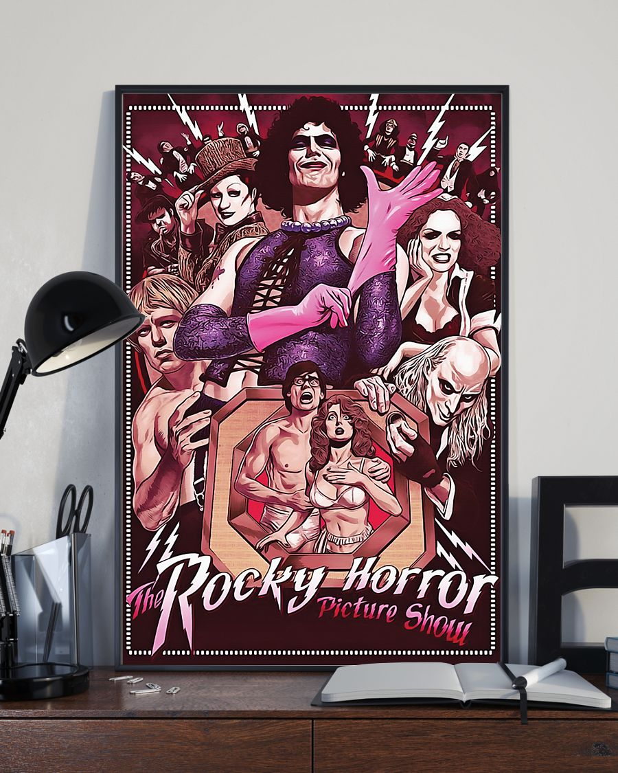 The rocky horror picture show retro poster 4