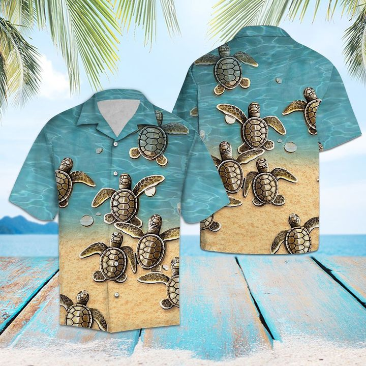 Turtles hawaiian shirt 2